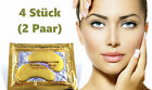 Crystal Collagen Gold Powder Eye Mask Augen Pad Anti Aging Feuchtigkeit Maske
