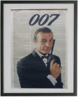James Bond Print No.444, sean connery, roger moore, 007, james bond poster $19.0 AUD