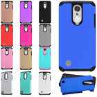 LG Rebel 2 L57BL HARD Astronoot Hybrid Rubber Silicone Case Cover +Screen Guard