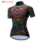 2017 Women's cycling New Short sleeve Jersey Road Bike Cyling Clothing Tops
