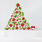 Christmas Tree Barrier Decal New Year Design Holiday Vinyl Sticker Home Decor 572