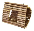 Natural Wooden Hammock Swing for Hamsters Chinchillas Guinea Pigs Ferrets Rats