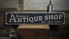 Antique Shop, Antique, Custom Antique - Rustic Distressed Wood Sign ENS1001396