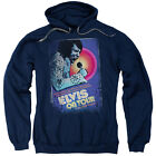 Elvis On Tour Poster Mens Pullover Hoodie