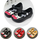 Baby Child Kids Jelly Fish Mouth Shoes Mini Children Jelly Cow Cattle Sandals SZ