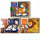 Lacing Toy Wooden Lacing Boards Melissa and Doug Threading Sewing 3+