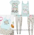 Primark Ladies Pusheen The Cat Pyjamas Womens Pajamas