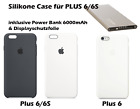 Original Apple iPhone PLUS 6/6S Silikon Case (B-Ware) und gratis Powerbank
