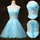 Girl Prom Short Formal Homecoming Ball Gown EVENING Cocktail Party Wedding Dress