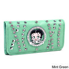 Betty Boop Rhinestone and Multi-Studded Checkbook $28.94 USD