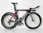 STRADALLI AERO TRIATHLON TRI TT BIKE ULTEGRA Di2 6870 CARBON 50MM 85MM WHEELSET