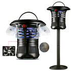 USB LED UV Light Mosquito Killer Fly Bug Insect Zapper Trap Catcher Lamp Stand