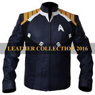 Men's Star Trek Kirk Chris Pine Beyond Costume Special Edition Leather Jacket on eBay