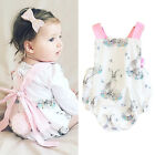 0-24 months baby clothes - US Stock Infant Baby Girls Clothes Bunny Bodysuit Romper Sunsuit Outfits 0-24M