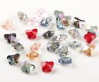 HOT 10pcs Crystal beads fit DIY Jewelry making gift butterfly series 10mm
