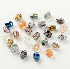 HOT 10pcs Crystal beads fit DIY Jewelry making gift skull series 8mm