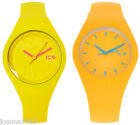 ICE WATCH Women's Yellow Silicon Analogue Watch