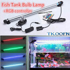 Remote RGB Color Changing LED SMD Aquarium Fish Tank Light Lighting Submersible