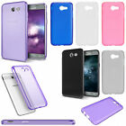 Samsung Galaxy J3 PRIME Frosted TPU CANDY Gel Flexi Skin Case Cover Accessory