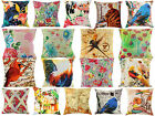 Indian Handmade Cotton Cushion Covers Printed Sofa Pillow Cases 16""