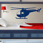 Helicopter Be ruined Decal Vinyl Stickers Airplane Plane Boy Nursery Home Decor ZX280