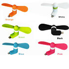 Portable Super Mute Micro USB Cooler Mini Fan For iPhone 6s Android Smartphones