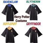 Adult Harry Potter Cosplay Robe Cloak Gryffindor/Slytherin/Hufflepuff Costumes
