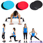 2*Fitness Gliders Slide Discs Core Sliders Workout Gym Exercise Training Tool