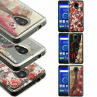For LG Escape 3 K373 Hard Gel Rubber KICKSTAND Case Cover +Screen Protector