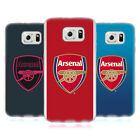 OFFICIAL ARSENAL FC 2017/18 CREST KIT SOFT GEL CASE FOR SAMSUNG PHONES 1