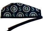 Men's Unlined Surgical Scrub Hat  in Seattle Mariners