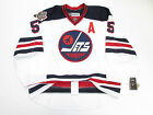 SCHEIFELE WINNIPEG JETS AUTHENTIC HERITAGE CLASSIC REEBOK EDGE 2.0 7287 JERSEY