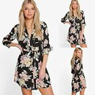 Women Sexy Summer Long Sleeve Party Dress Evening Cocktail Casual Mini Dress RK