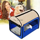QUIK SHIPPING DOG PET CRATE CANVAS SOFT CARRIER KENNEL TRAVEL FOLDING CAGE #HFR