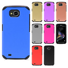 For LG X Venture H700 HARD Astronoot Hybrid Rubber Silicone Case Phone Cover