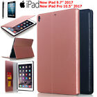"Shockproof Leather Case Kickstand Magnetic Cover F New iPad Pro 10.5""& 9.7"" 2017"