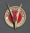 """OLD GUYS RULE """" V8 HIGH MILEAGE..LOW MAINTENANCE MUSCLE STREET ROD M,L,XL,2X,3X"""