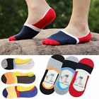 Men Loafer Boat Invisible Low Cut No Show Cotton Silica Gel Casual Sport Socks