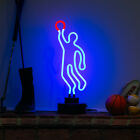 Neon VOLLEYBALL Sign SPIKE Glass (Not LED) Desk Lamp Gym Office Light 40cm Tall