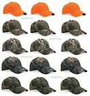 Outdoor Cap Mens Camouflage Cap Structured six-panel mid-profile Camo Hat 301IS