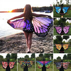 1* Children Girls Fairy Butterfly Wings Cape Cloak Costume Gift Festival Cosplay