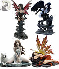 NEMESIS NOW FANTASY GOTHIC FAIRY FIGURINE ORNAMENT scarlet raven storm maiden
