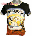 DALI Geopolitical Child Watch Birth New Man FINE ART PRINT T SHIRT Surrealism *