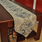 New Table Runner Embroidered Home Dining Tea Table Cover Fringed Mat Cloth Decor