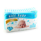 Nice Baby Dry Diapers Gold Premium Disposable Color Change Economy Pack S/M/L/XL