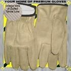 S-M-L-XL-Winter Thermal Insulated Premium Drive Work Cowhide Shop Leather Glove