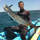 SPEARFISHING WETSUIT SPEARDIVER PREDATOR 3mm 5mm red camo 2 piece open cell