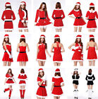 Christmas Ladies Sexy Xmas Party Dress Adult Girls Cosplay Costume Fancy Womens