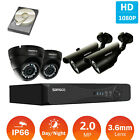 Sansco 4CH 5in1 HDMI DVR Security System 1080P IR-Cut Waterproof CCTV Camera 1TB