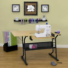 Studio Designs Eclipse Sewing Machine Table Black